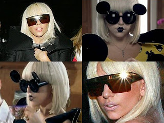 83d02594829 Goggles and Glasses  Lady Gaga Sunglasses Paparazzi Flip Up Black ...