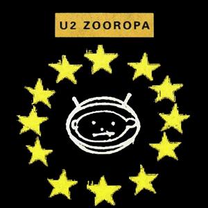 zooropa promo cover art