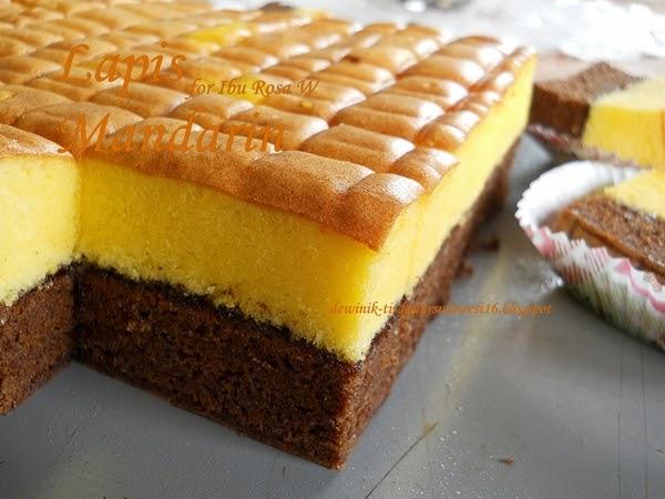 Resep Cake Pisang Ncc Fatmah Bahalwan: IbuMamah DewiNik: Kue Lapis Mandarin / Lapis Malang