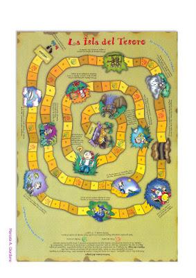 """""""La isla del tesoro"""" game"""
