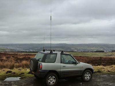 Ham Radio: Hustler Mono Band HF Mobile Antenna System