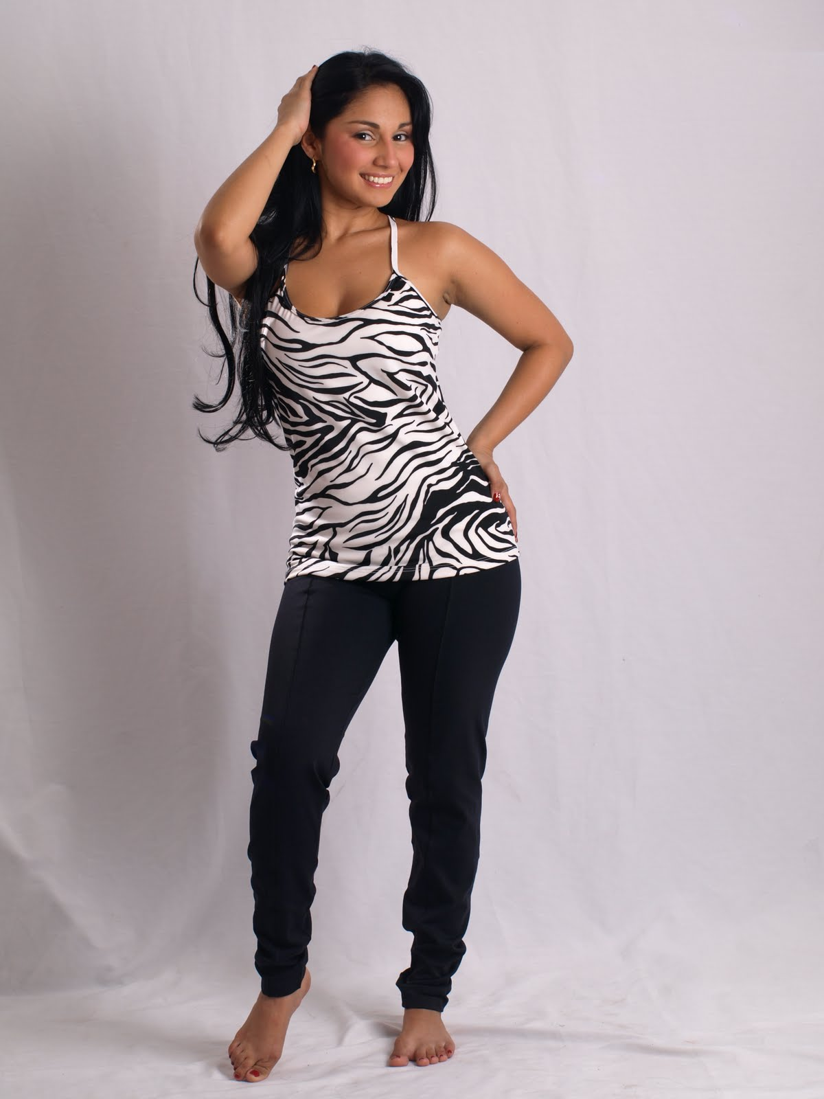 Hot Latina In Business Fitness Active Wear Yoga Pants Tips-7348