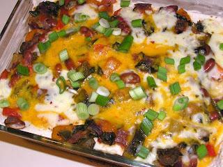 Cook's Hideout: Mexican Vegetable Lasagna