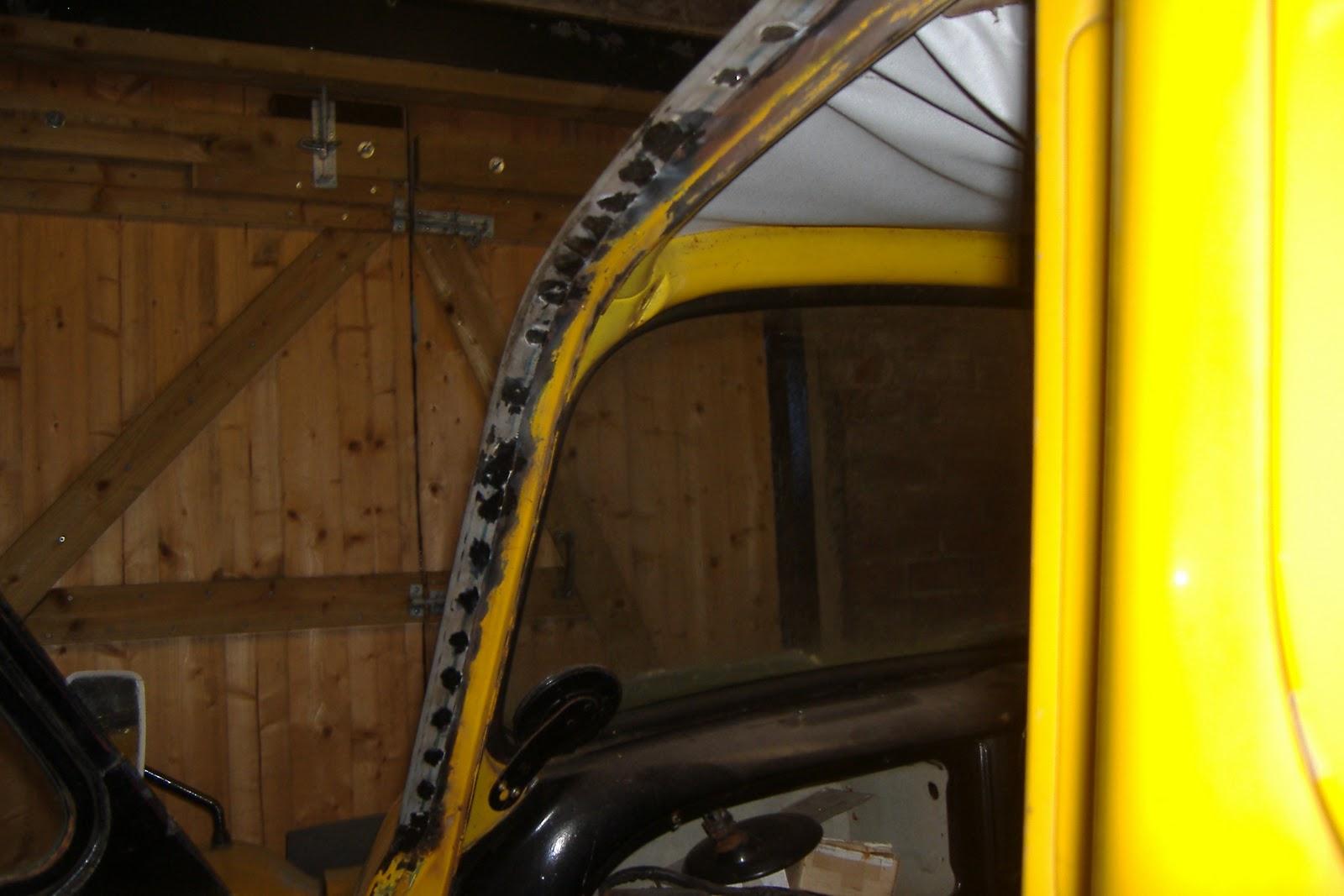Mtr Restorations Late Morris Minor Cab Gutter Repairs