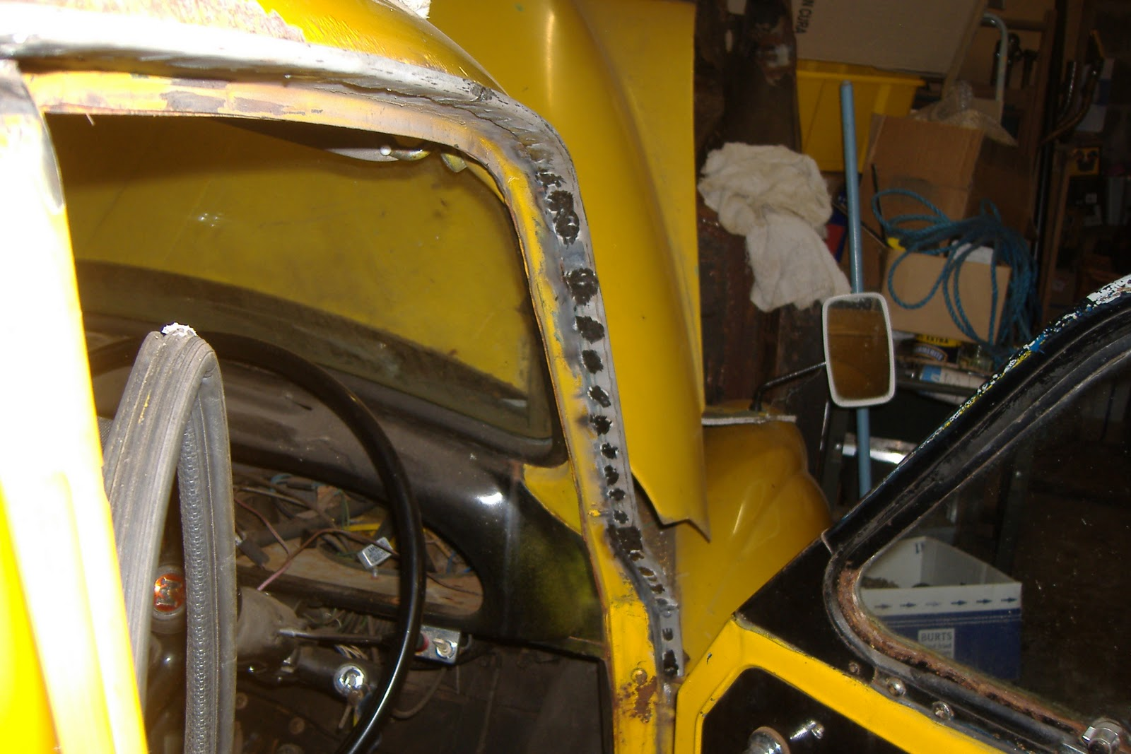 Mtr Restorations Late Morris Minor Cab Gutter Repairs