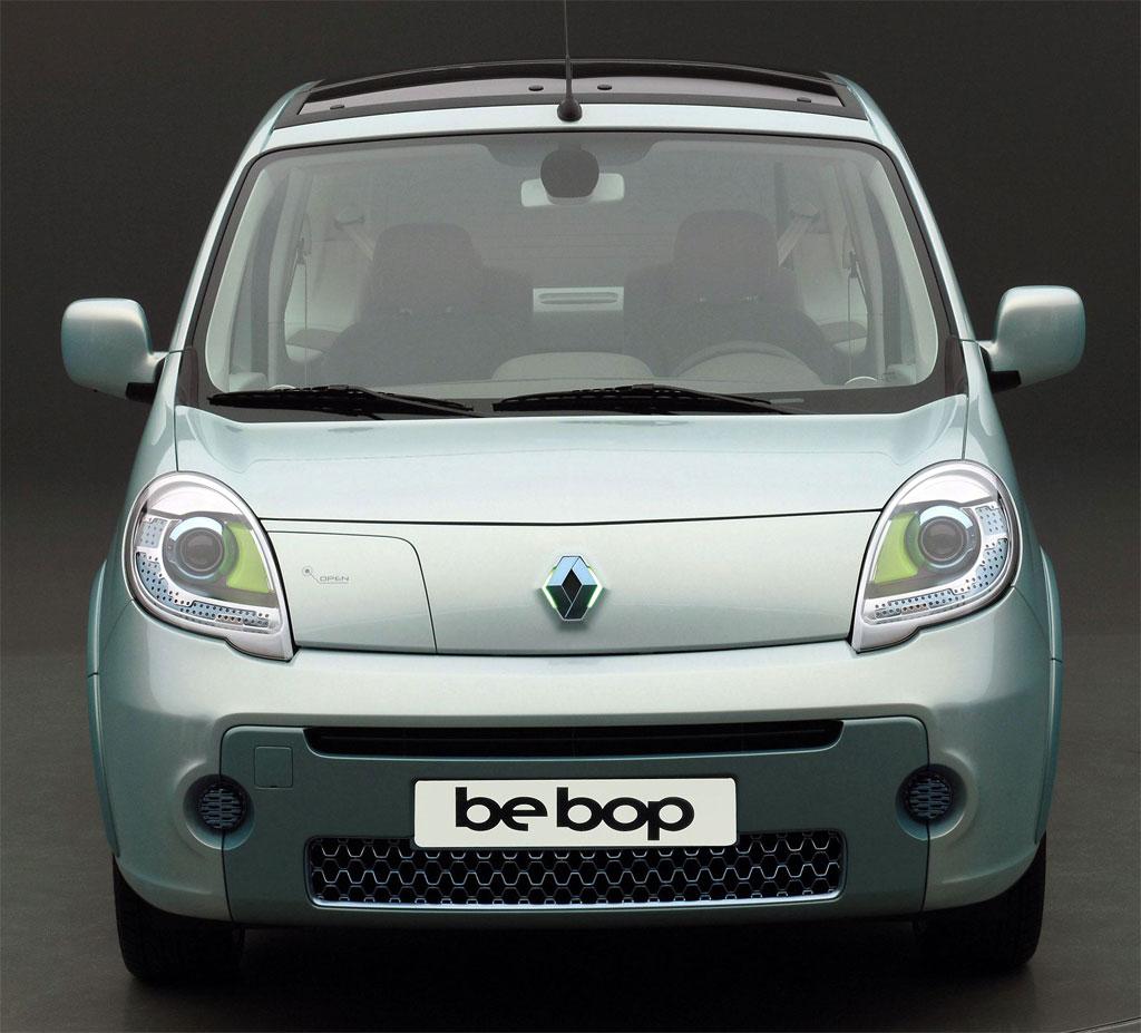 Renault Car Wallpaper: Renault Kangoo Be Bop Z.E 2009