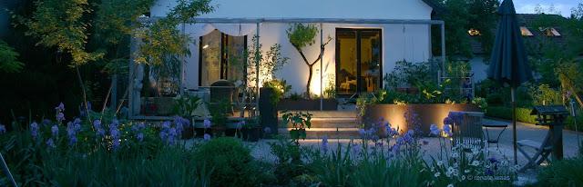 Gartenbeleuchtung - Garten beleuchten - Licht für den Garten - Lichtplanung Renate Waas