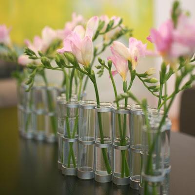 sommer blomster vase