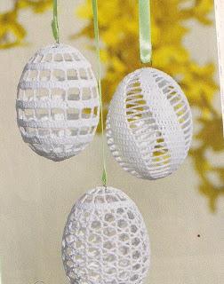 Crochet Easter Egg Lace Pattern