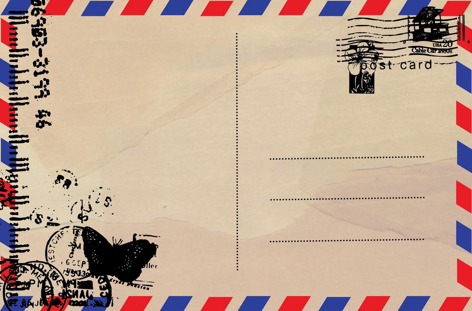 Ms Word Postcard Template burris blank double post card template – Free Microsoft Word Postcard Template