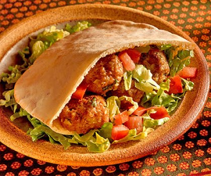 Meatball sandwiches recipe lebanese recipes for Ali baba s middle eastern cuisine