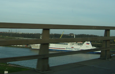 Snap of Barfleur tied up in Caen