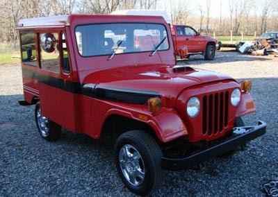 burlappcar post office customized jeep for sale. Black Bedroom Furniture Sets. Home Design Ideas