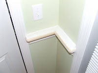 how to install chair rail card table chairs 2 a part iii home construction improvement of these posts on installing involves finishing up the bed molding and filling caulking all holes in preparation for painting