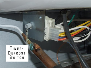 replacing timer defrost device on frigidaire zer home picture of timer defrost switch on frigidaire zer