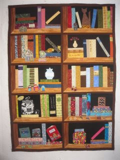 A Little Bit Of Kaos Book Shelf Quilt