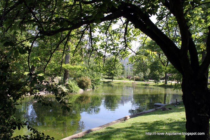 I Love Aquitaine Jardin Public A Green Oasis In Bordeaux