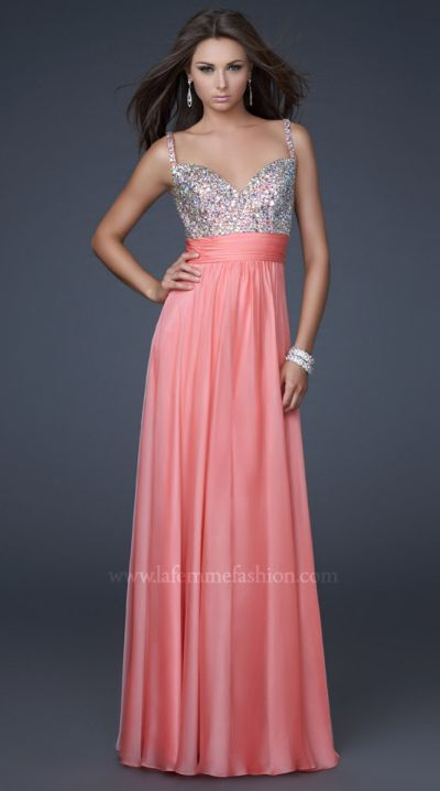 51f610c0062 La Femme Prom Dresses are always featured in Seventeen and TEEN Prom  magazines and are one of the most popular Prom Dress Designers for 2011 Prom .