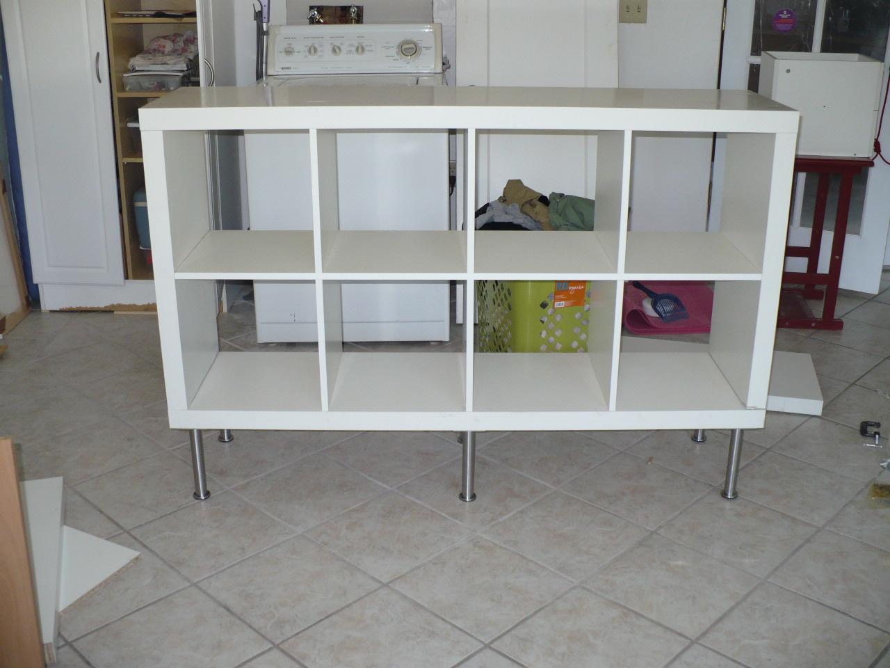 expedit ikea how to put together. Black Bedroom Furniture Sets. Home Design Ideas