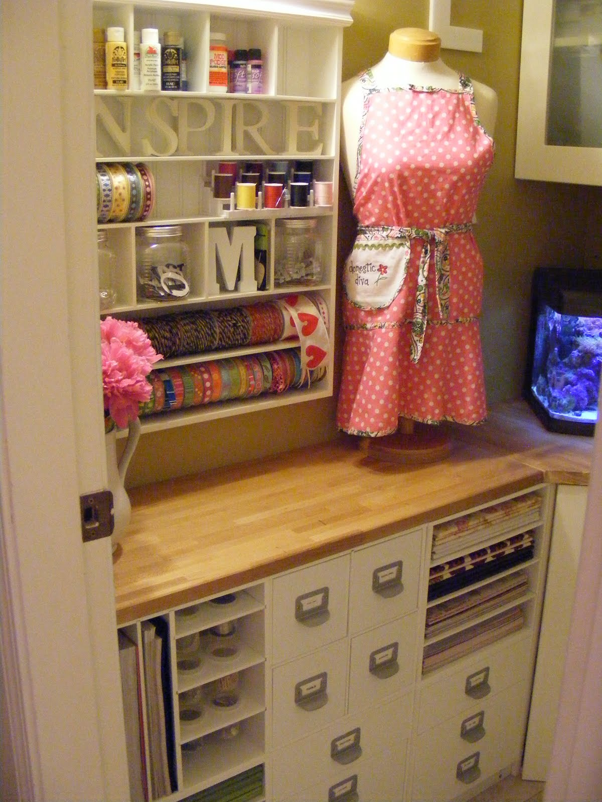 Ikea Hack Kitchen Cabinet Into Hutch