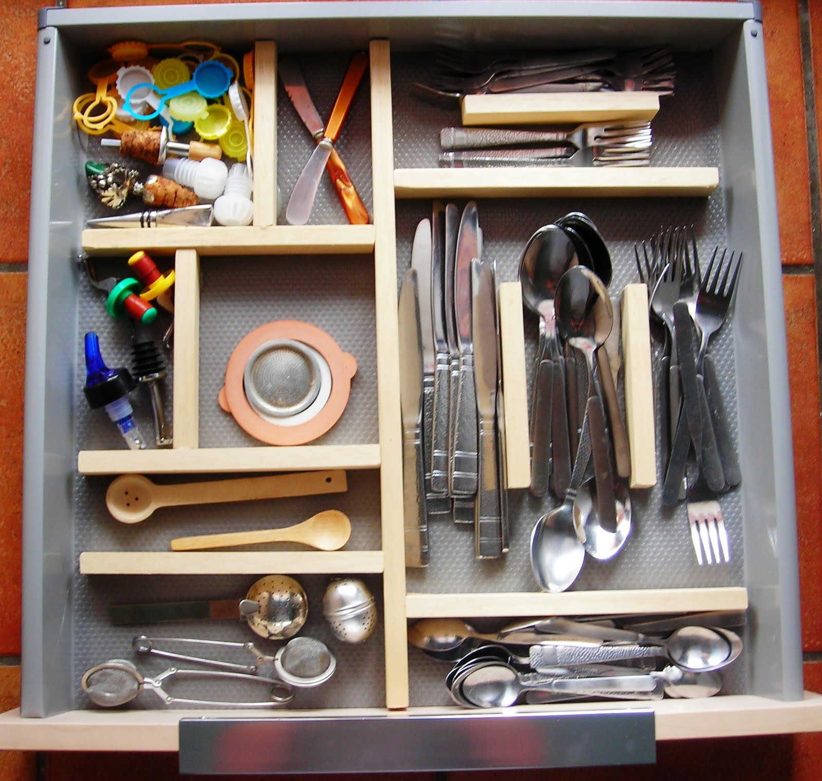 Kitchen Drawer Organizer Ikea Copper Accessories More Drawers Hackers