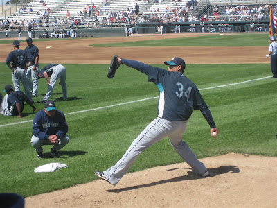 arizona, spring training baseball, felix hernandez, mariners