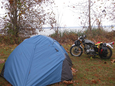 state park camground, tennesse, motorcycle, tent