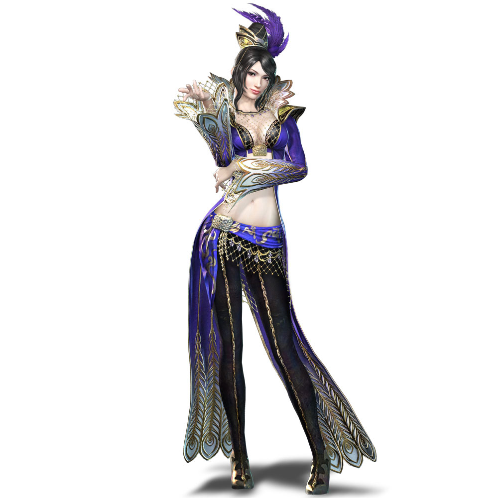 Warriors Orochi 3 Lian Shi: Dark Aquamarine: Dynasty Warriors 7 Character Artworks