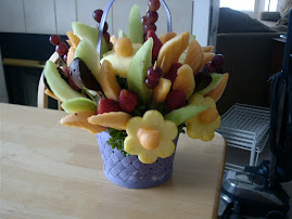 Edible Fruit Flower Basket...