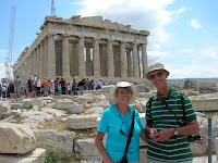 Op de Akropolis