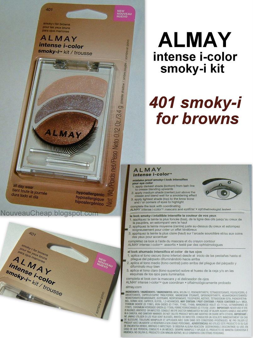 Almay makeup for brown eyes