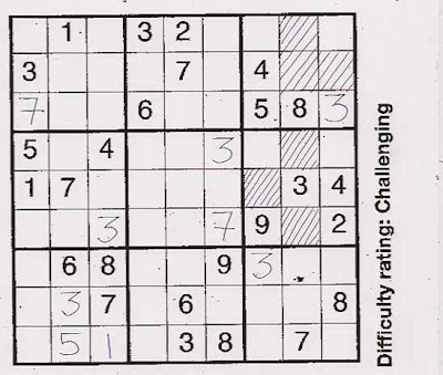 Mark Wadsworth: Solving Sudoku puzzles made easy (part 1)