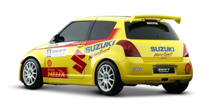 Suzuki Swift Rally Car, 2005
