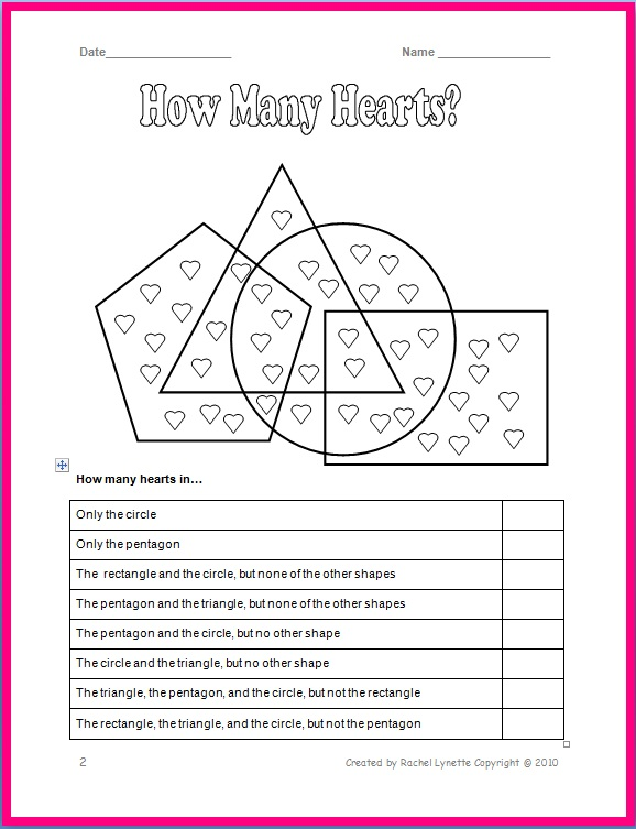 Valentine's Day Worksheets for Free! - Minds in Bloom