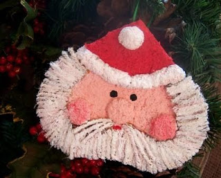 Gift Laden Paper Mache Santa Claus Hangings (Set of 3 ...   257x320