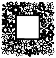 Flower Frame Mesh Free SVG Download for Spring