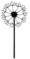 Dandelion Art Free SVG Download blog