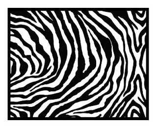 Zebra Pattern  - Cricut SVG Download