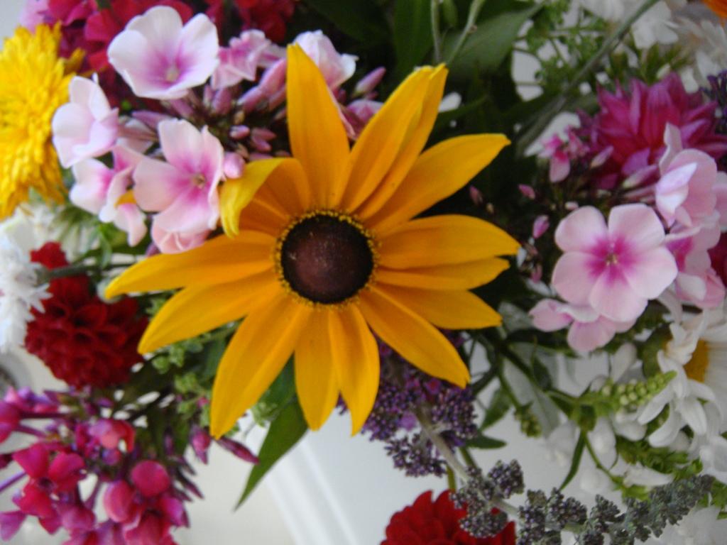 quilts und mehr Blumenstrauss  Bouquet of flowers