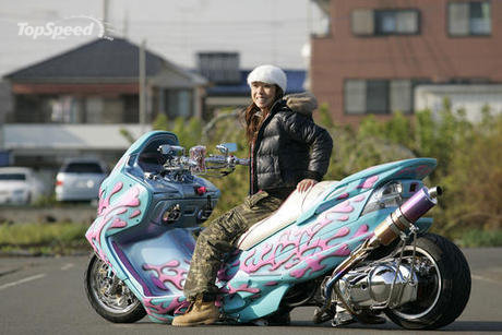 Best Motor Scooters >> 41 Extremely Custom Scooters ~ Now That's Nifty