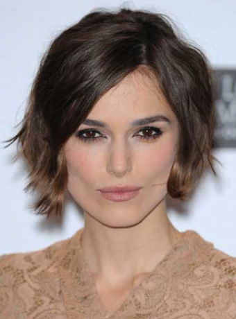 rihanna curly hair styles keira knightley s bob hairstyles hairstyles and haircuts 3057