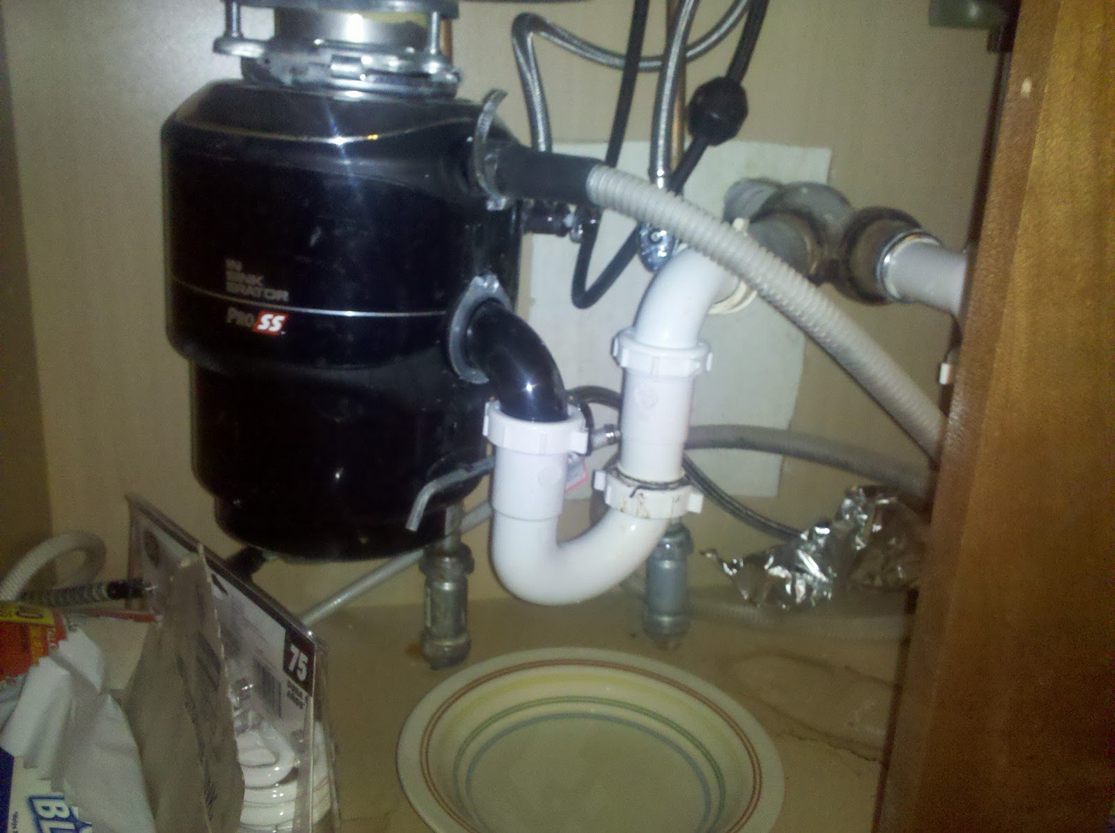 Kitchen Sink Pipe Drain Slow At Night