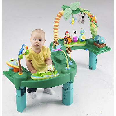 Evenflo Exersaucer 174 Triple Fun Active Learning Center