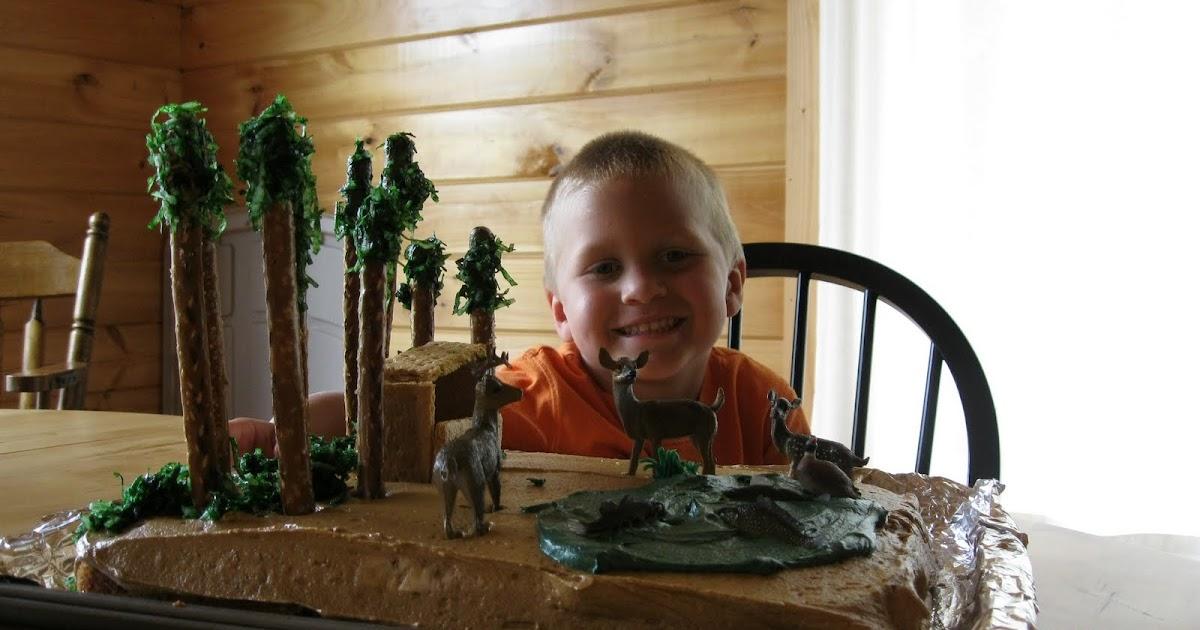 Melissa S Cakes Cody S Hunting Deer Blind Fish Cake