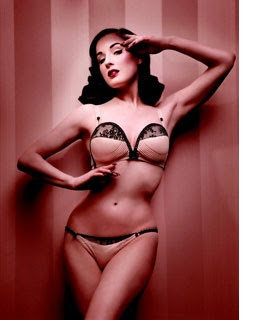 d0f040ee04d Fashion Trends  Dita Von Teese designs a collection for Wonderbra