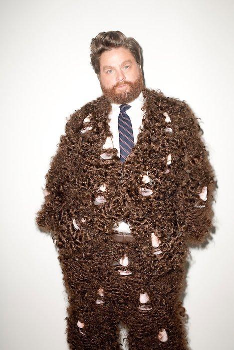 Cool Stay Bearded Beard Suit Short Hairstyles Gunalazisus