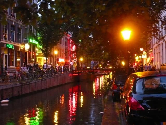 Amsterdam Punaisten Lyhtyjen Alue