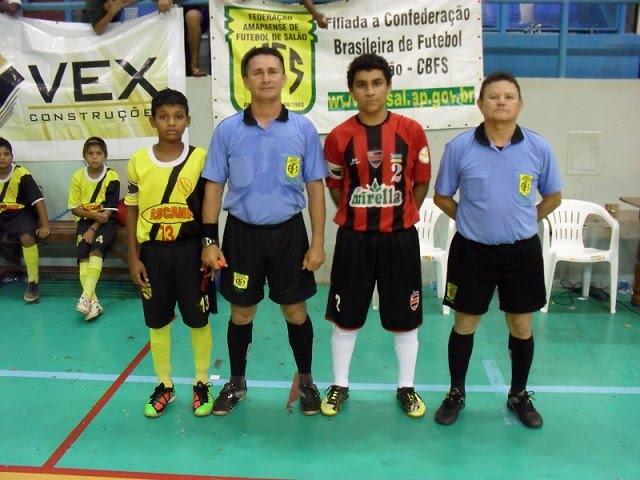 Foi dado o ponta pé inicial para o Campeonato Amapaense de Futsal nas  Categorias Sub-13 e Sub-20. 7cca5f7e3eee0
