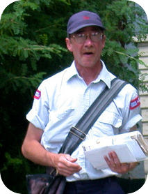 This postman delivers email