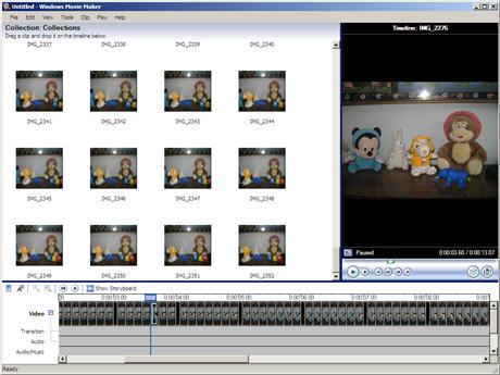 Tutorial Create A Stop Motion Animation Movie Using Digital Camera